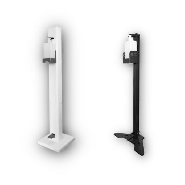 Ayak Basmalı Desenfektan Dispenseri Standları