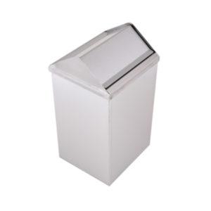 MUTINOX 1401 Stainless Steel Swivel Trash Bin