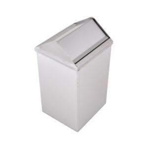 MUTINOX 1401-25 Stainless Steel Swivel Trash Bin