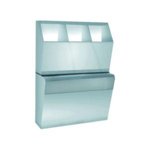 MUTINOX 1502 Stainless Steel Overshoe-Bonnet-Mask-Cabinet
